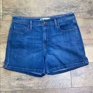 Levi Strauss five pocket denim Jean shorts